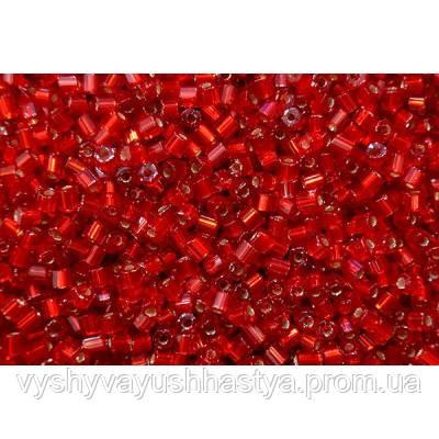 Чешский бисер Preciosa Ornela №97050 рубка  (блестящий, красный)