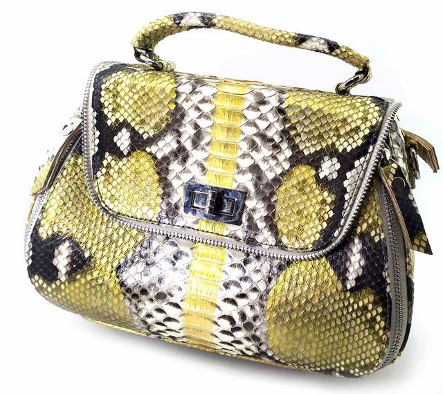 сумка из кожи змеи