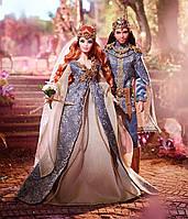 Barbie коллекционный набор кукол Барби Королевская Свадьба  / Barbie Faraway Forest Fairy Kingdom Wedding