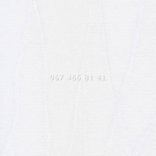 Жалюзи вертикальные 89 мм Жаккард BlackOut белые, фото 2