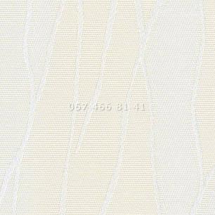 Жалюзи вертикальные 89 мм Жаккард BlackOut бежевые, фото 2