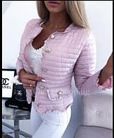 """Куртка женская демисезонная стеганая, размеры S-L (3цв) """"LILIYA"""" купить недорого от прямого поставщика"""