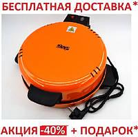 Электрическая блинница и для выпечки пиццы 2 в 1 DSP KC1069, фото 1