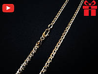 """🔥✅Цепочка """"Ромб"""" . Позолота 18 К Xuping, медицинское золото, хьюпинг, XP, ювелирная бижутерия"""