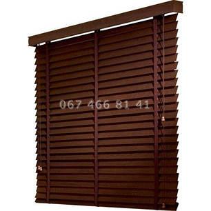 Жалюзи деревянные Classic 50 мм Wenge, фото 2