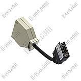 Пеобразовательный кабель OMRON CS1W-CN114, port C в port CS/CJ, фото 2