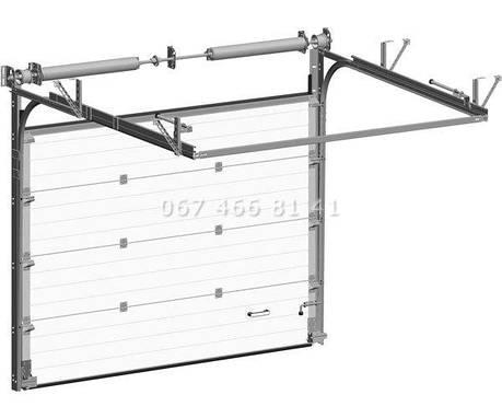 Ворота промышленные секционные Alutech ProPlus, фото 2
