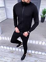 Спортивный костюм мужской черный Baterson Sarmat