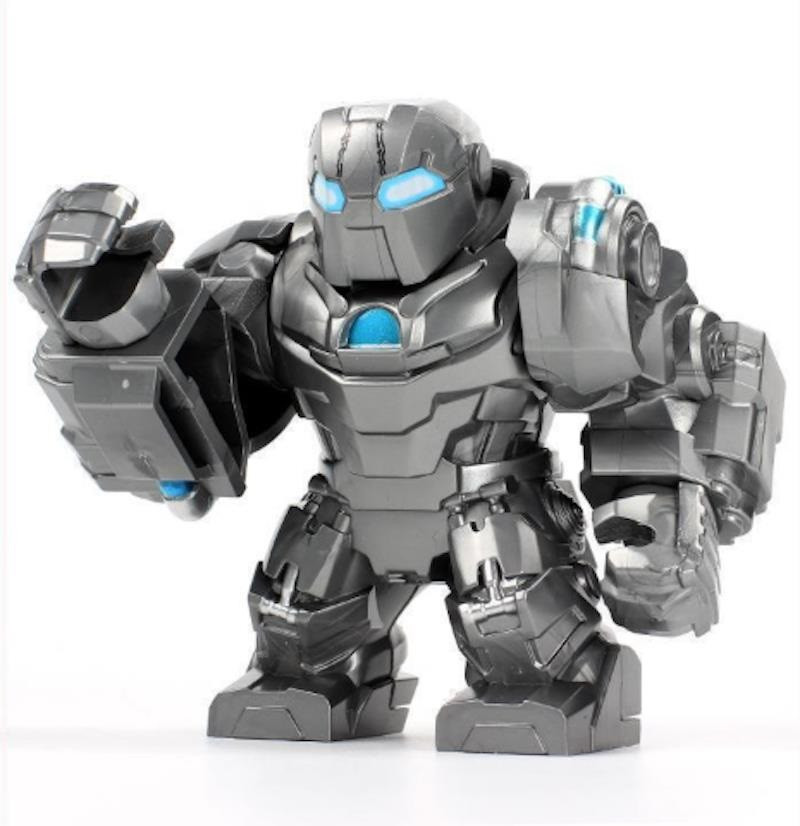 Лего фигурки Lego Marvel Марвел супер-герои мстители Whiplash Хлыст железный человек Iron man