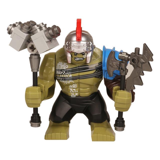 Лего фигурки Lego Marvel Марвел супер-герои мстители Халк Hulk