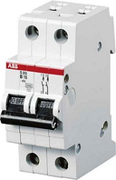 Миниатюрный автоматический выключатель ABB S202M. 2P 6А (С) 10kA