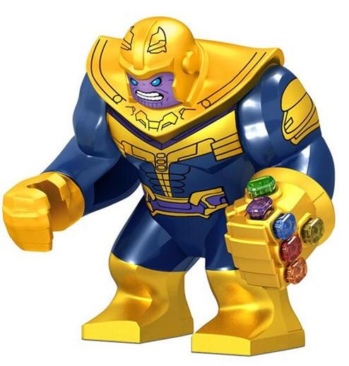 Лего фигурки Lego Marvel Марвел супер-герои мстители Танос Thanos
