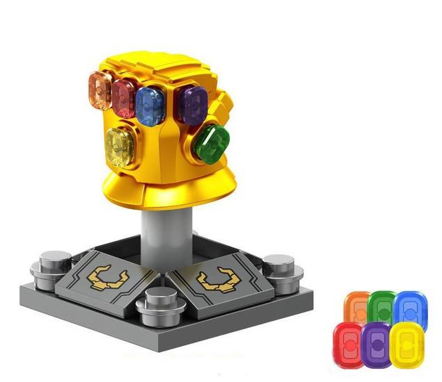 Лего фигурки Lego Marvel Марвел супер-герои мстители Танос Thanos рука таноса
