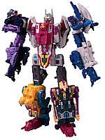 Робот-трансформер комбайнер Hasbro 5в1 Абоминус, Сила Праймов 32 см -  Abomination, Power of the Primes