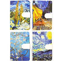 Блокнот для записей А6 144л. Лидер Van Gogh на магните 9701S-15