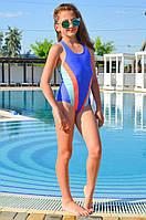 Спортивный купальник для подростков Keyzi Olimpia B 158 Голубой Keyzi Olimpia B