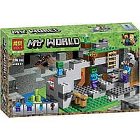 """Конструктор Minecraft Bela 10810 """"Пещера зомби"""", 250 деталей"""
