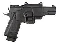 Страйктобольный металлический пистолет (репликаColt 1911PD с кобурой!