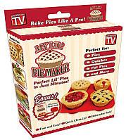 Силіконова форма для випікання  кексів, маффінів - My Lil Pie Maker