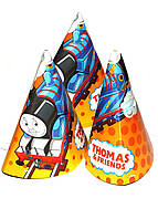 """Набор праздничных колпаков """"Thomas & Friends"""" (6шт) BBS 16х11см Разноцветный"""