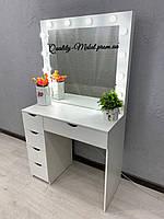 Белый стол для макияжа