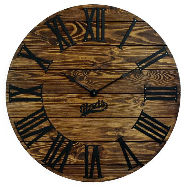 Настенные Часы Деревянные Glozis Kansas Mokko A-050 60х60