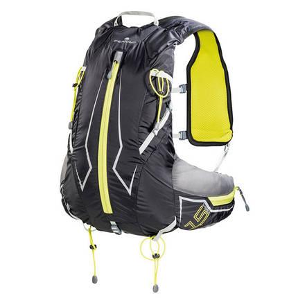 Рюкзак спортивный Ferrino X-Track 15 Black/Yellow, фото 2