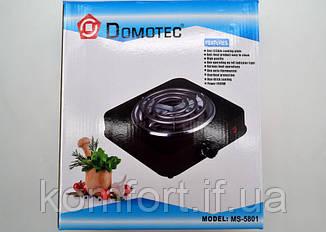 Электроплита 1 конфорка с широкой спиралью Domotec MS15531, фото 2