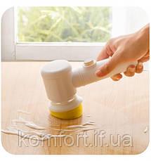 Электрическая щетка для уборки Magic Brush 5в1, фото 2