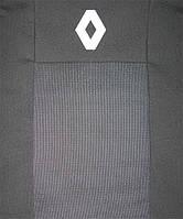 Чохли в салон модельні для Dacia Sandero I '07-12 [роздільний] преміум (комплект), чорний, фото 1