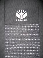 Чехлы в салон модельные для Daewoo Nexia '08- [подголовники] бюджет (комплект), черный, фото 1