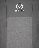 Чехлы в салон модельные для Mazda 3 (BK) '03-09 бюджет (комплект), синий