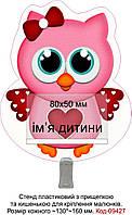Стенд пластиковий для оформлення малюнків куточка творчості Код-09427