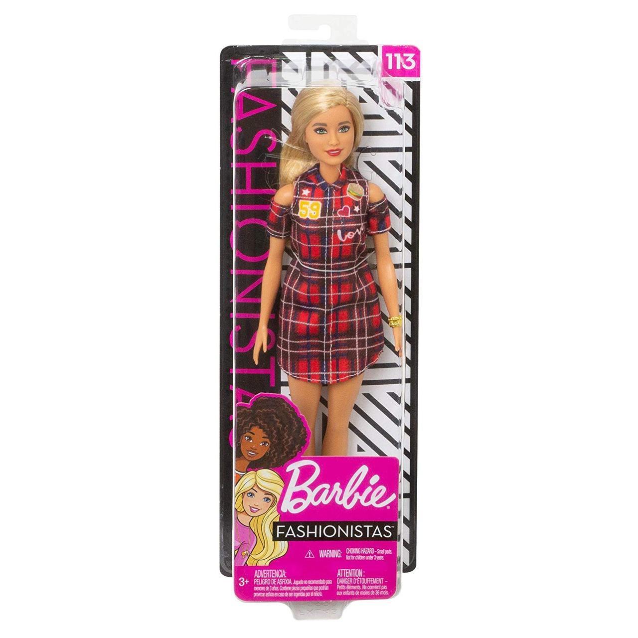 Кукла Барби Модница - Barbie Fashionistas Patched plaid