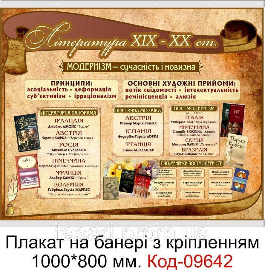 Плакат на банері з направляючими Код-09642