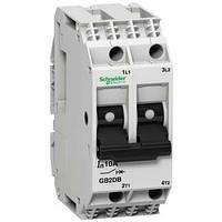 Автоматический выключатель Schneider Electric GB2 с комбинированным расцепителем 2П 1A