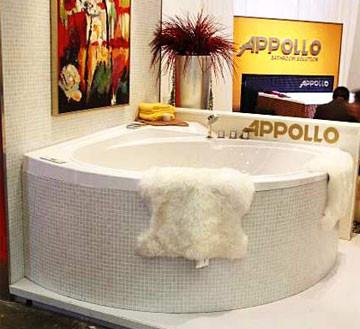 Гидромассажная ванна Appollo AT-9025 175х175х70см
