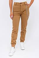 Женские джинсы с цепочкой Re-Dress - бежевый цвет, L (40) (есть размеры), фото 1