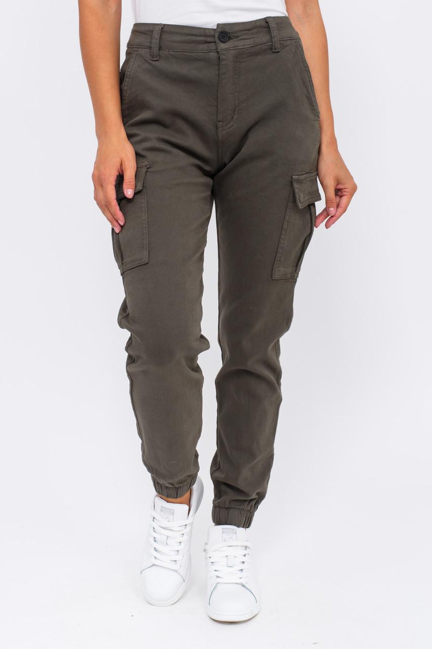 Стильные джинсы карго Re-Dress - хаки цвет, XS (34) (есть размеры)