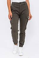 Стильные джинсы карго Re-Dress - хаки цвет, XS (34) (есть размеры), фото 1
