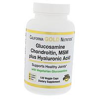 Glucosamine Chondroitin MSM Plus Hyaluronic Acid 120вегкапс (03427001)