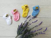 "Носочки для младенцев ""Цветные"" 0-6 мес (плотная вязка)"