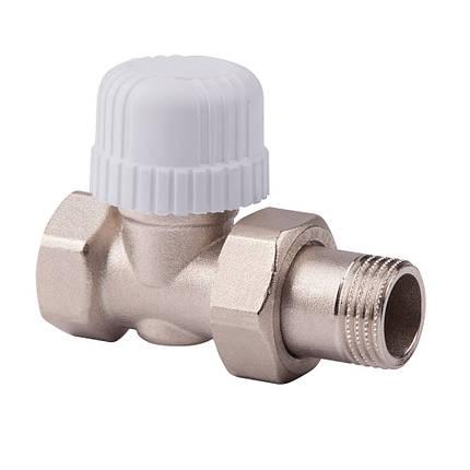 Прямой термостатический вентиль с предварительной настройкой 1/2 ICMA 779 (Италия), фото 2