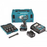 Аккумуляторный ударный гайковерт Makita DTW285RFJX (DTW285RFJX)