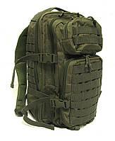 Военный рюкзак Assault Pack олива 36 литров, Mil-Teс (Германия)