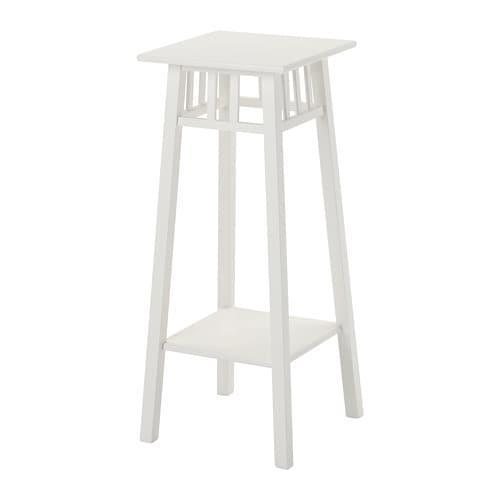 ИКЕА (IKEA) ЛАНТИВ, 101.861.11, Пьедестал для цветов, белый, 78 см - ТОП ПРОДАЖ