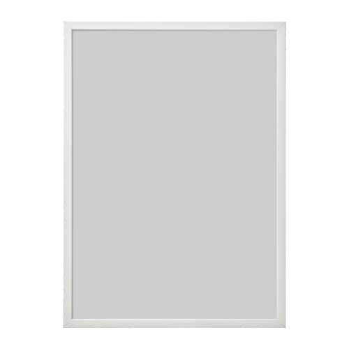 ИКЕА (IKEA) ФИСКБУ, 603.003.74, Рама, белый, 50x70 см - ТОП ПРОДАЖ