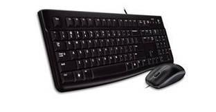 Комплект (клавиатура+мышка) Logitech Corded Desktop MK120