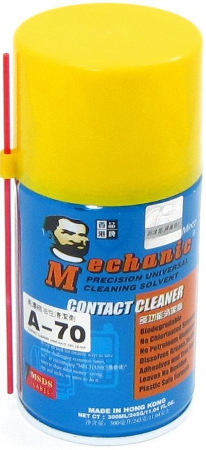 Спрей для очистки A-70 Oily Type 300мл  MECHANIC