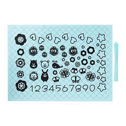 ИКЕА (IKEA) СОККЕРТАКА, 001.752.50, Лист д/раскатывания теста и нож, голубой